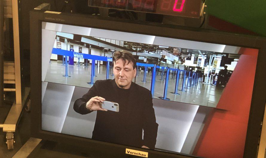 Gast in der WDR Lokalzeit Duisburg